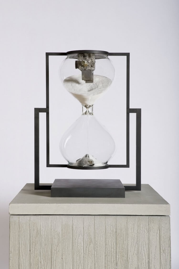 daniel arsham hourglass 23