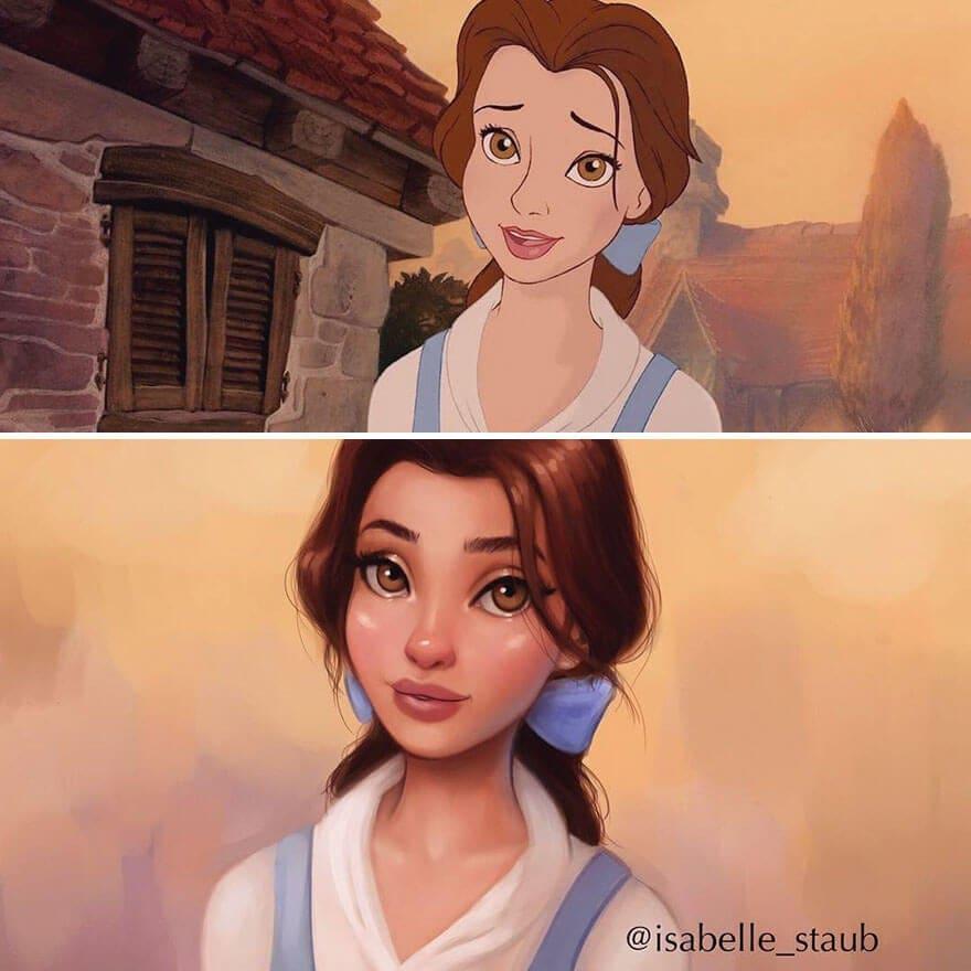 disney princesses isabelle staub 3