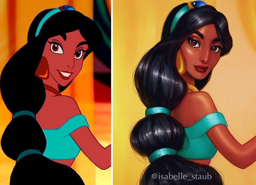 disney princesses isabelle staub 6