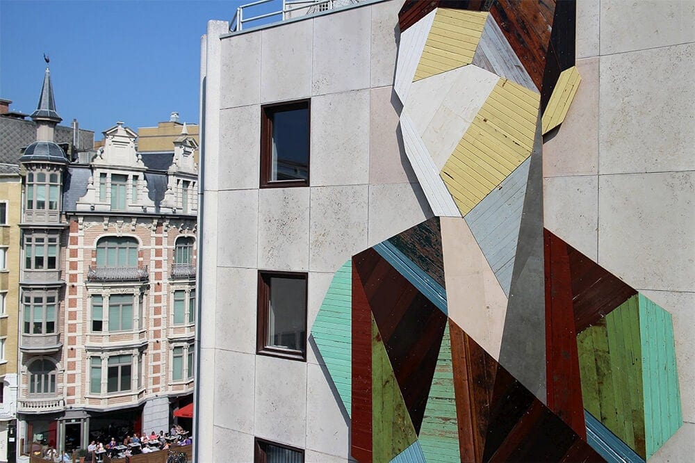 geometric portraits reclaimed wood strook 2 2