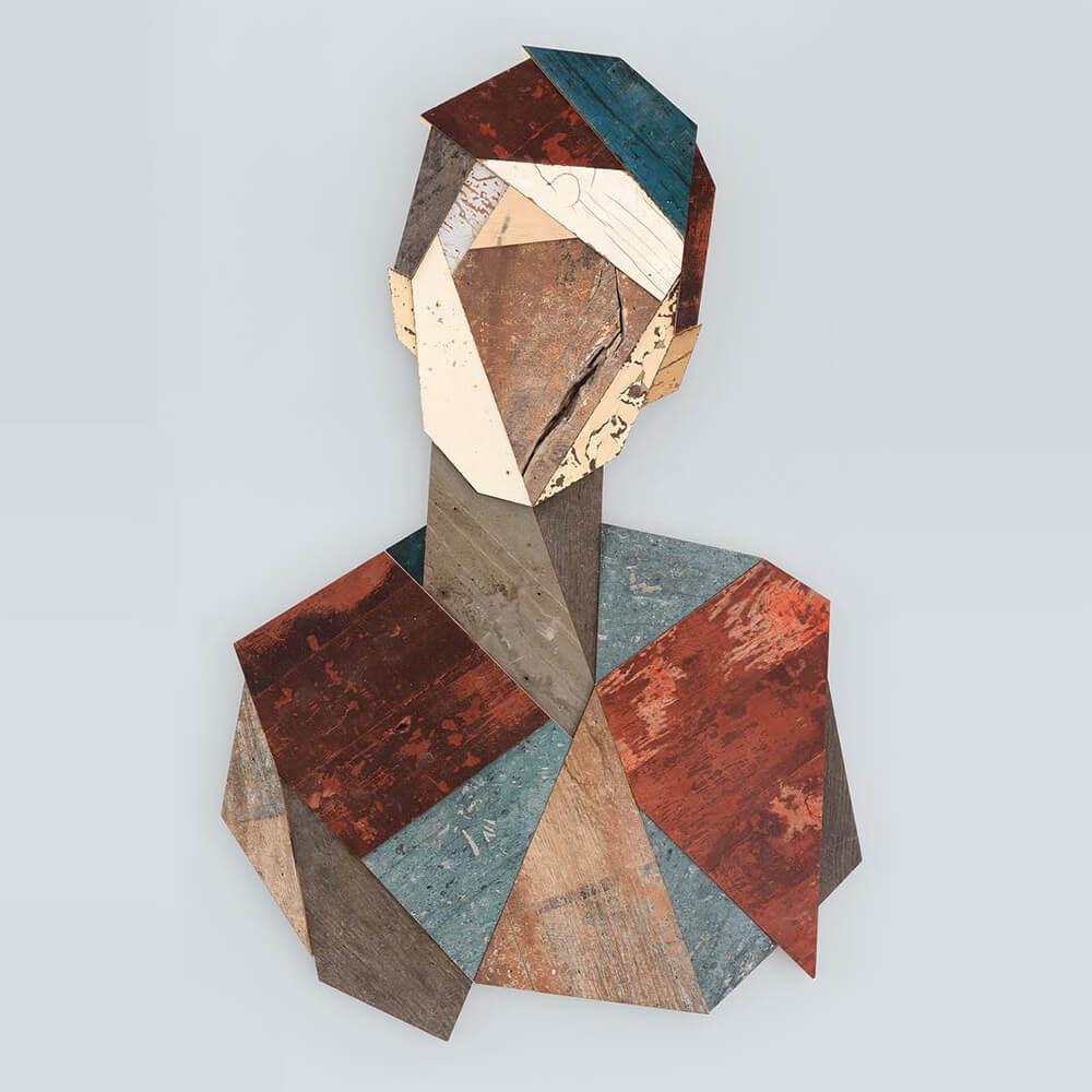 geometric portraits reclaimed wood strook 4 2