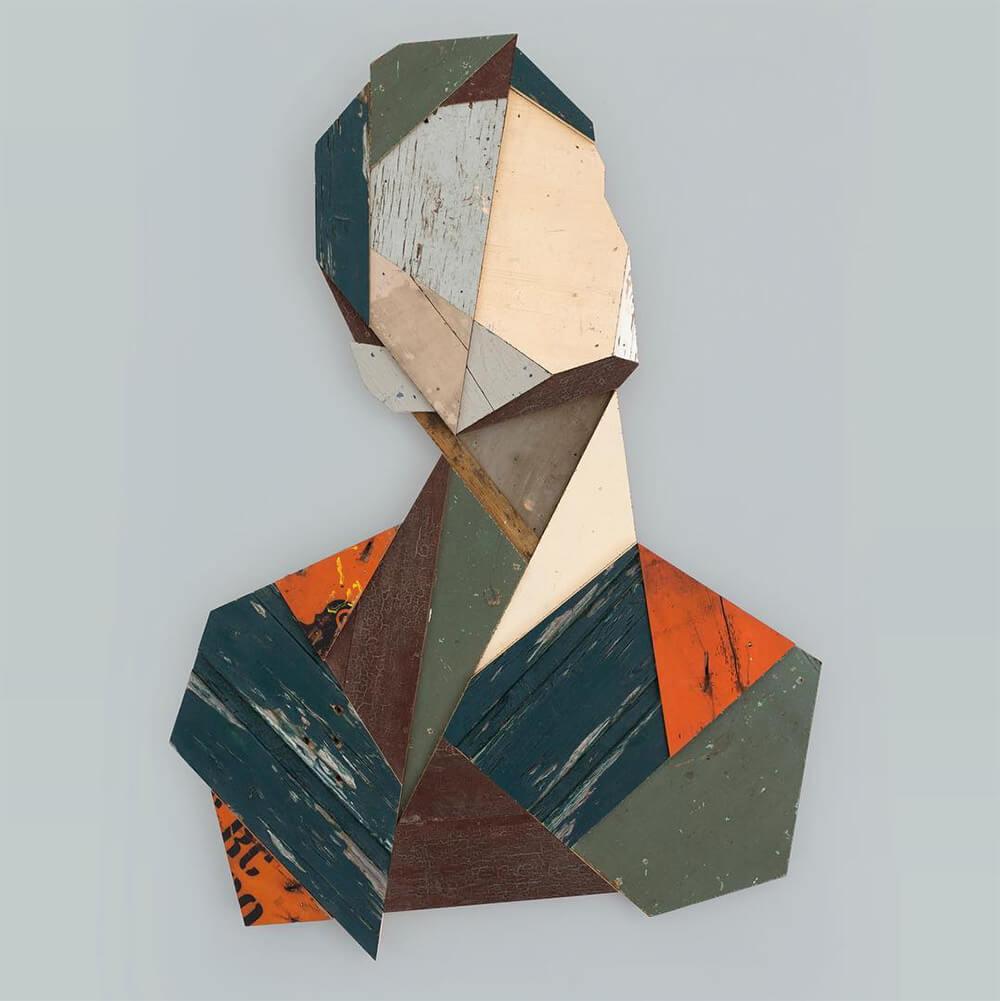 geometric portraits reclaimed wood strook 5 2