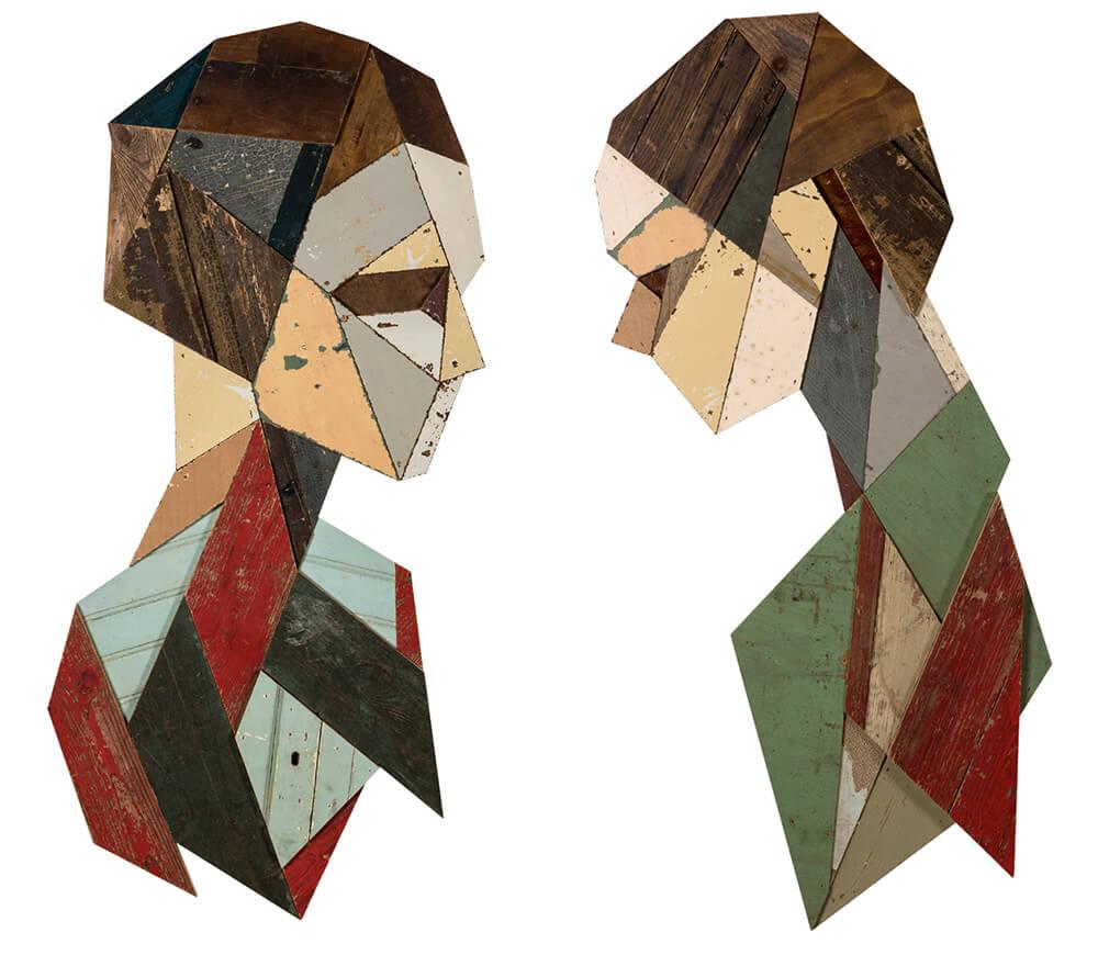 geometric portraits reclaimed wood strook 6 2