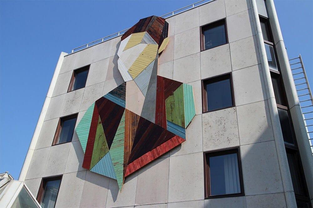 geometric portraits reclaimed wood strook 9 2