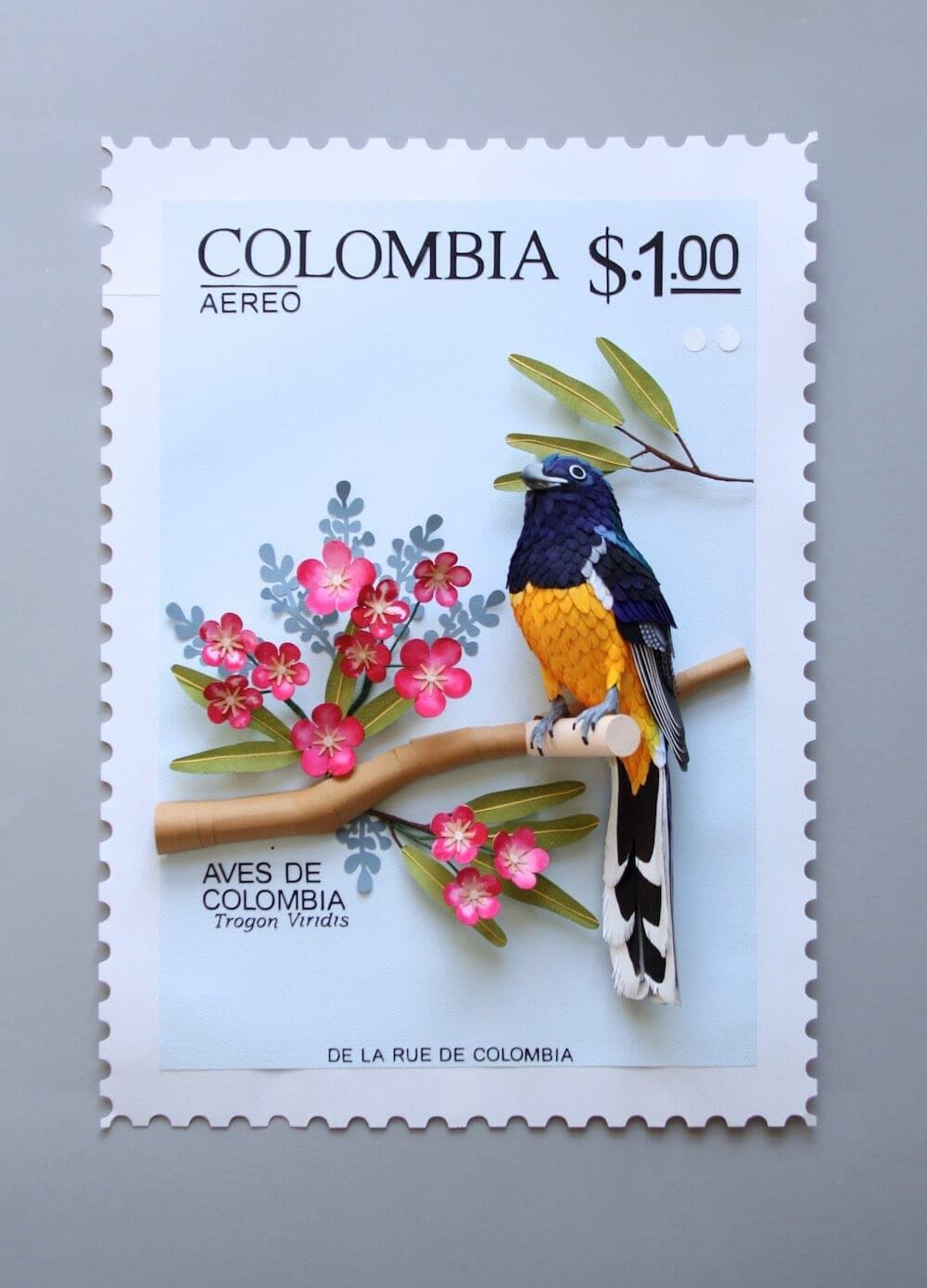 paper bird sculptures diana beltran herrera 3