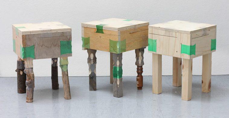 plastic bottles furniture joints micaella pedros 11