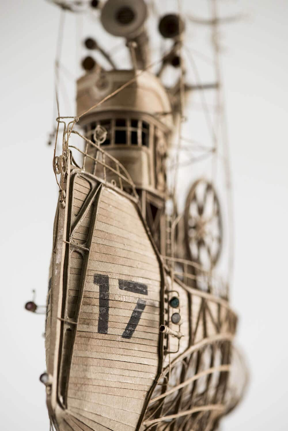 sculptural airships cardboard 4