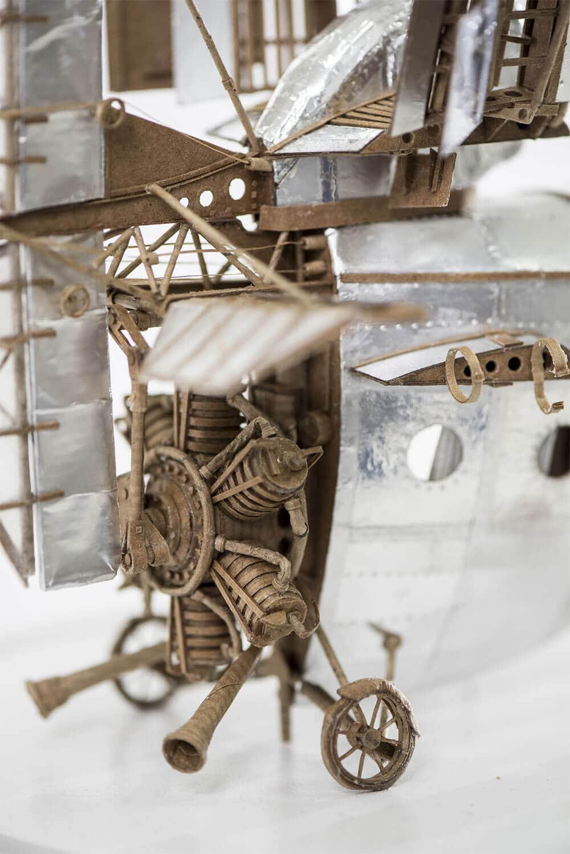 sculptural airships cardboard 8