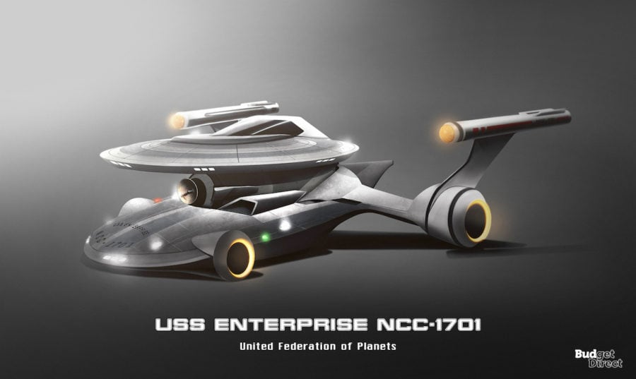 3 USS Enterprise NCC 1701