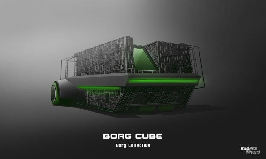 5 Borg cube