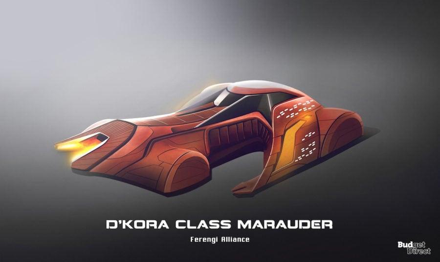 6 D'Kora Class Marauder