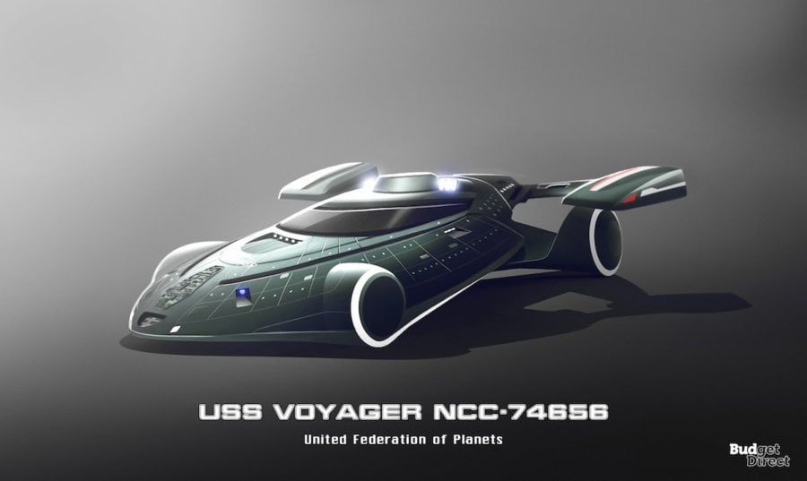 7 USS Voyager NCC 74656