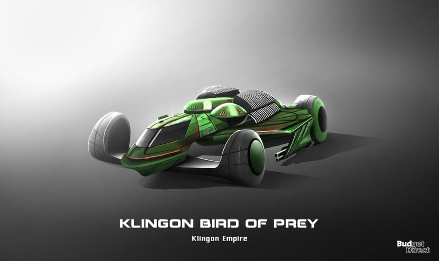 8 Klingon Bird of Prey
