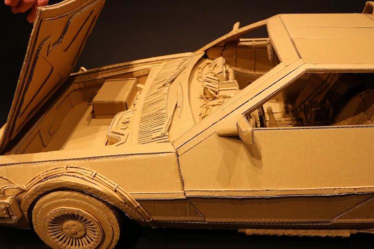 amazon cardboard box art monami ohno 2