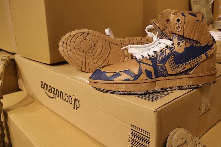 amazon cardboard box art monami ohno 22