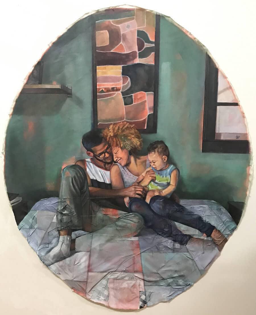 interracial couples paintings leslie barlow 1