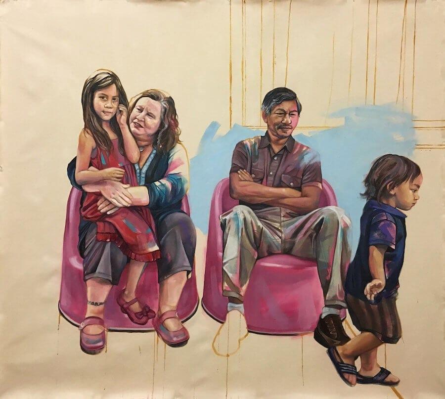 interracial couples paintings leslie barlow 2