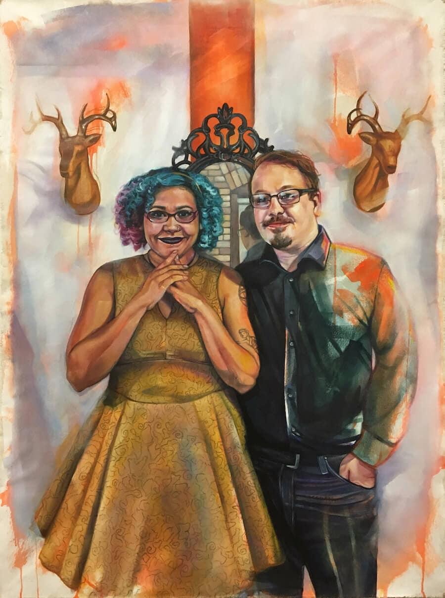 interracial couples paintings leslie barlow 4