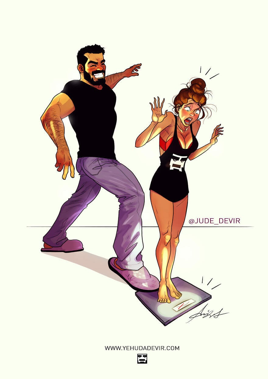 relationship illustrations marriage yehuda devir 12