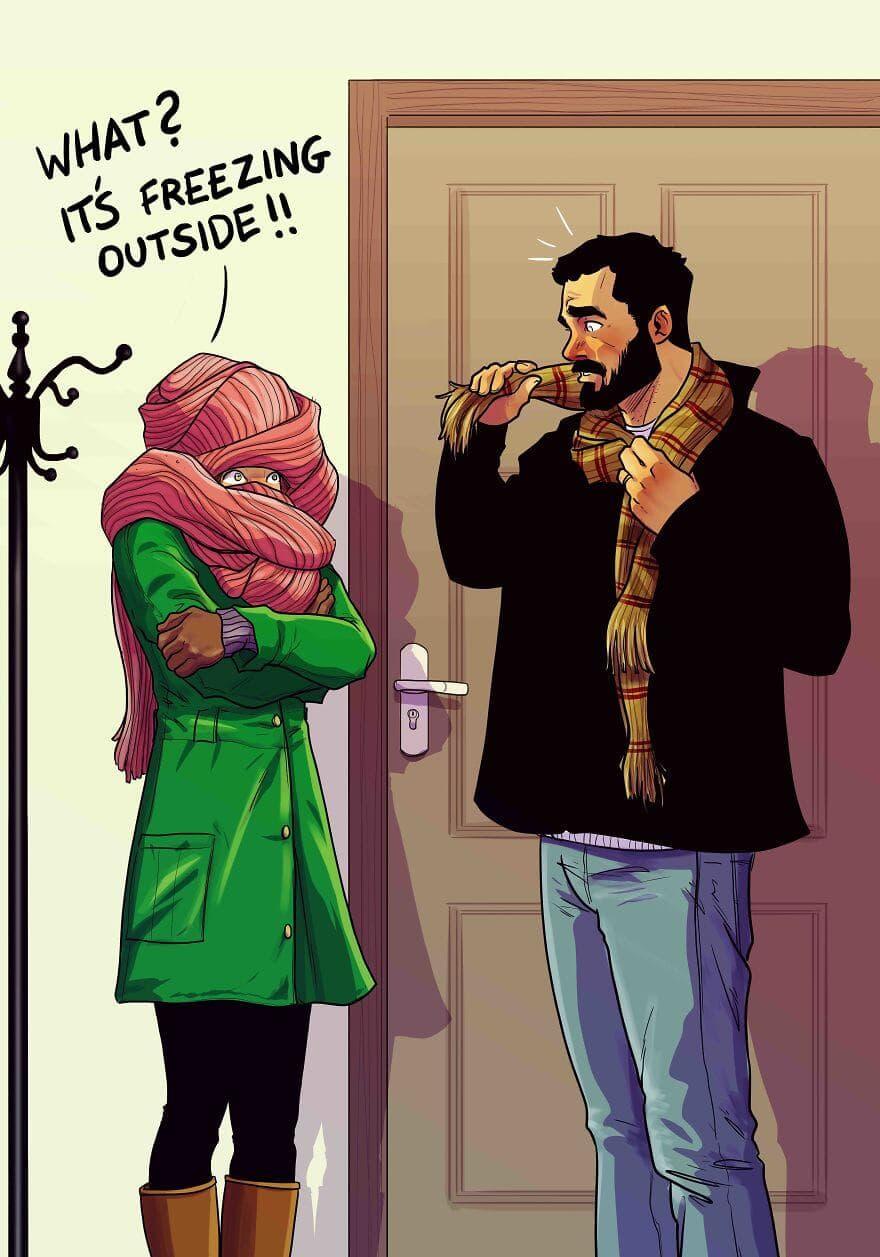 relationship illustrations marriage yehuda devir 17