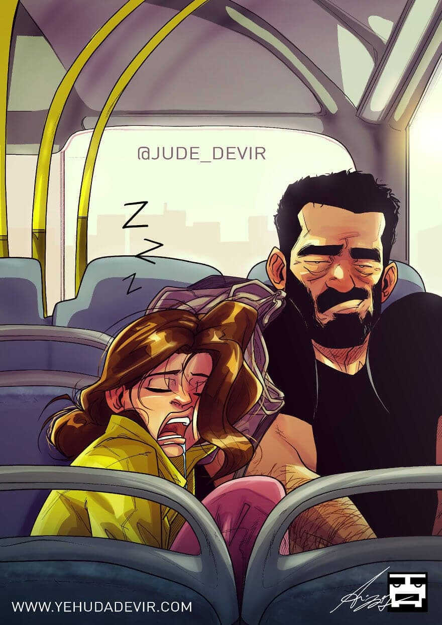 relationship illustrations marriage yehuda devir 19