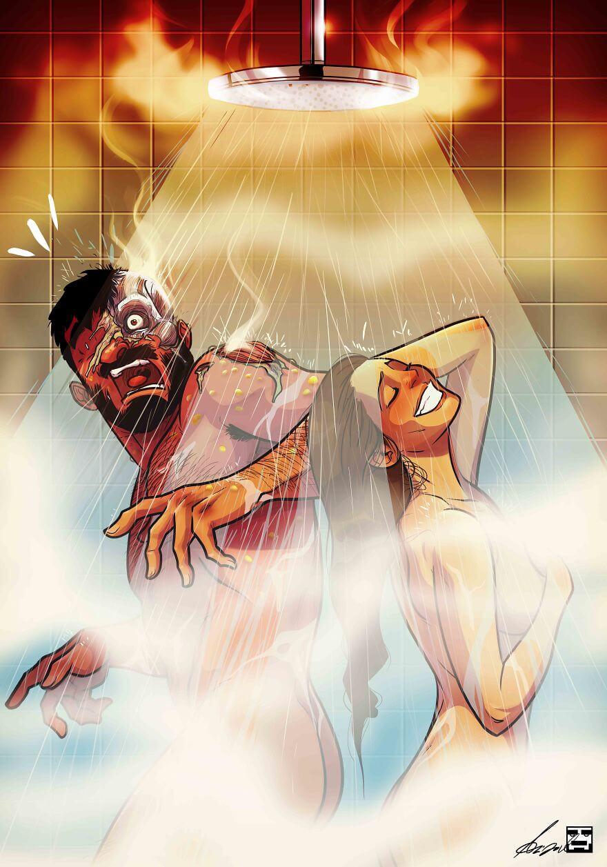 relationship illustrations marriage yehuda devir 2