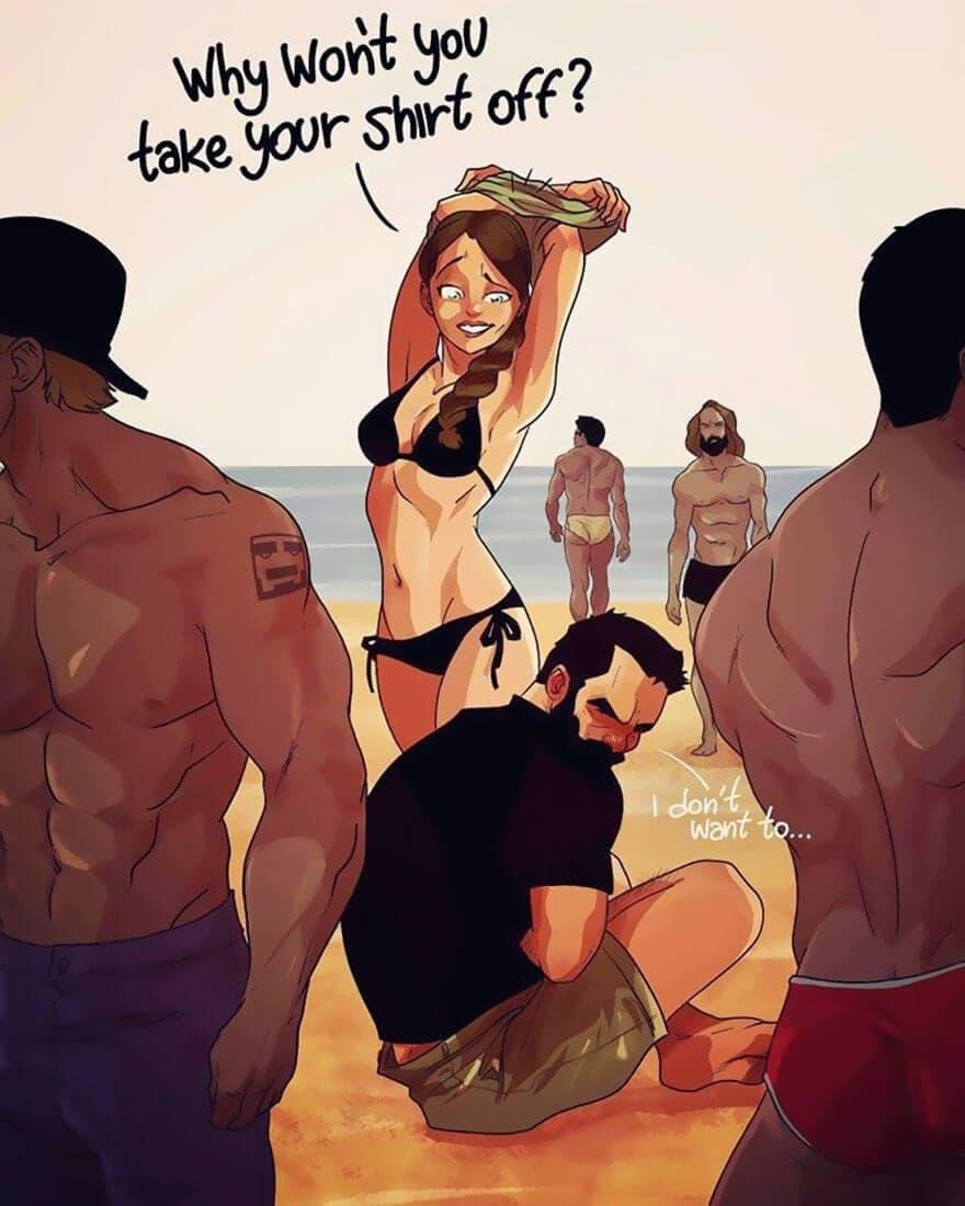 relationship illustrations marriage yehuda devir 8