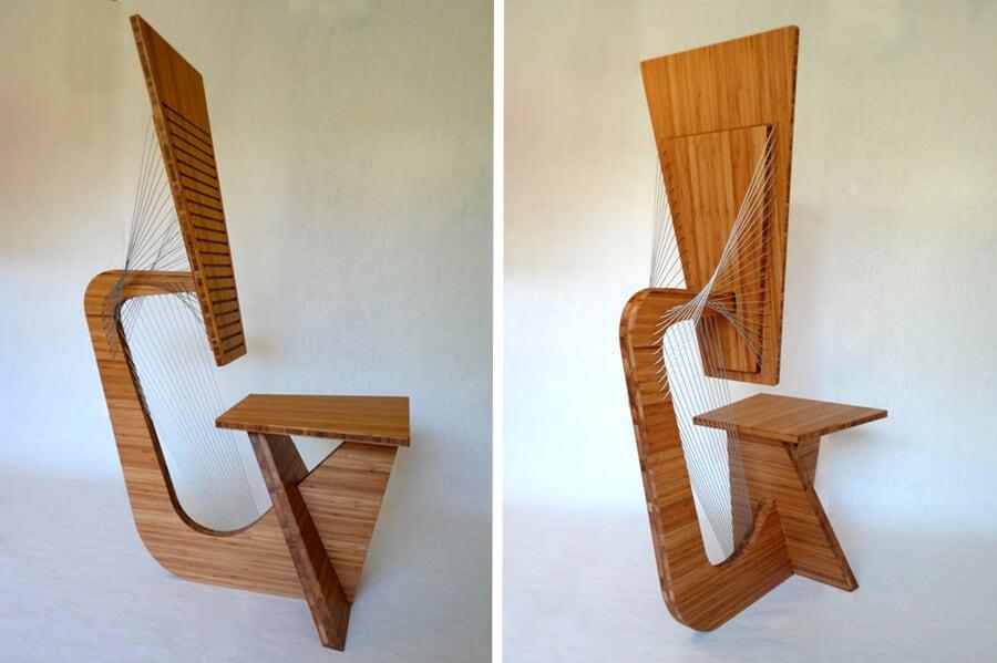 robby cuthbert tensegrity furniture 3