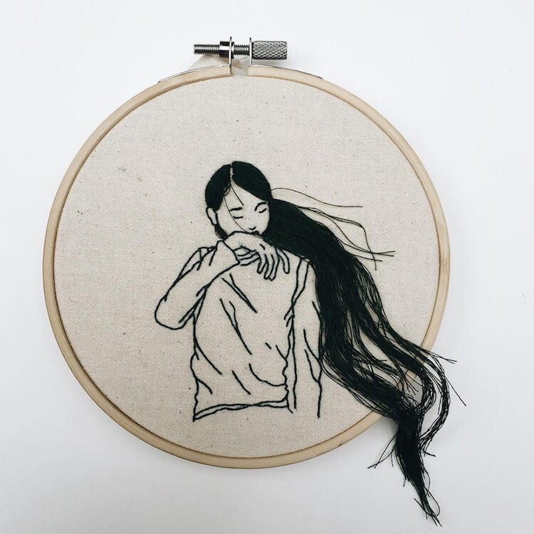 sheena liam hair embroidery 1