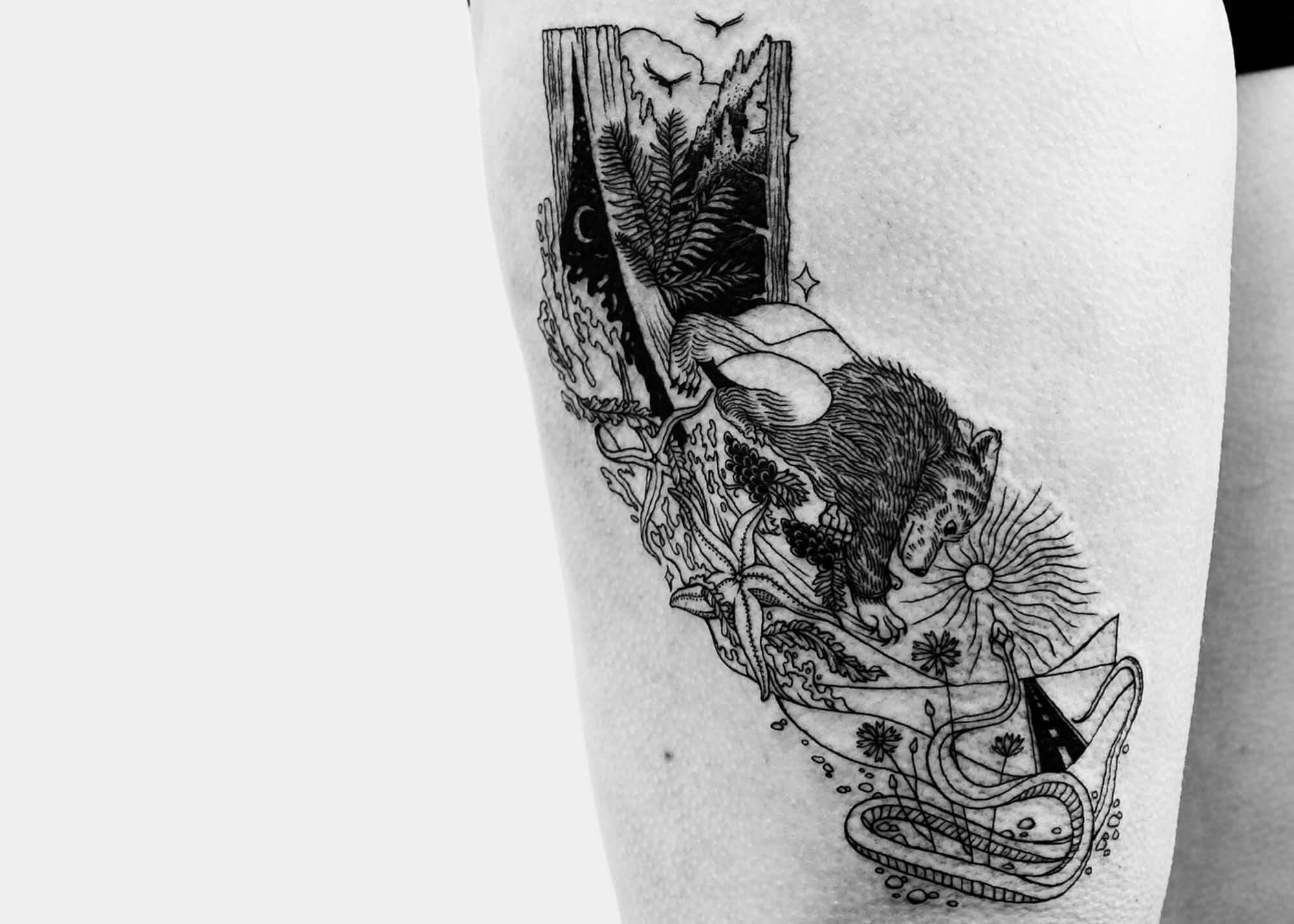 a b m tattoo fy 9