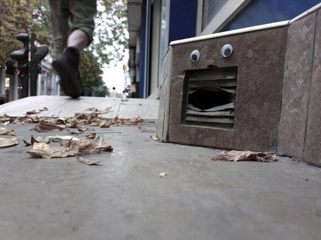 bulgarian guy makes post soviet streets more fun googly eyes fy 12
