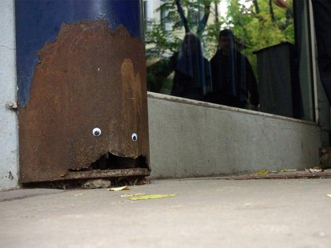 bulgarian guy makes post soviet streets more fun googly eyes fy 7