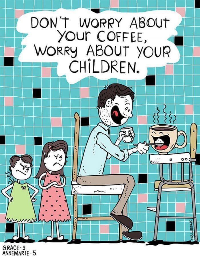 dad draws daughters ideas martin bruckner fy 12