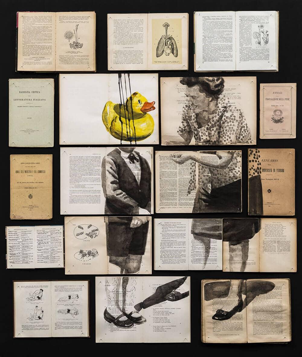 fragmented ink paintings ekaterina panikanova fy 1