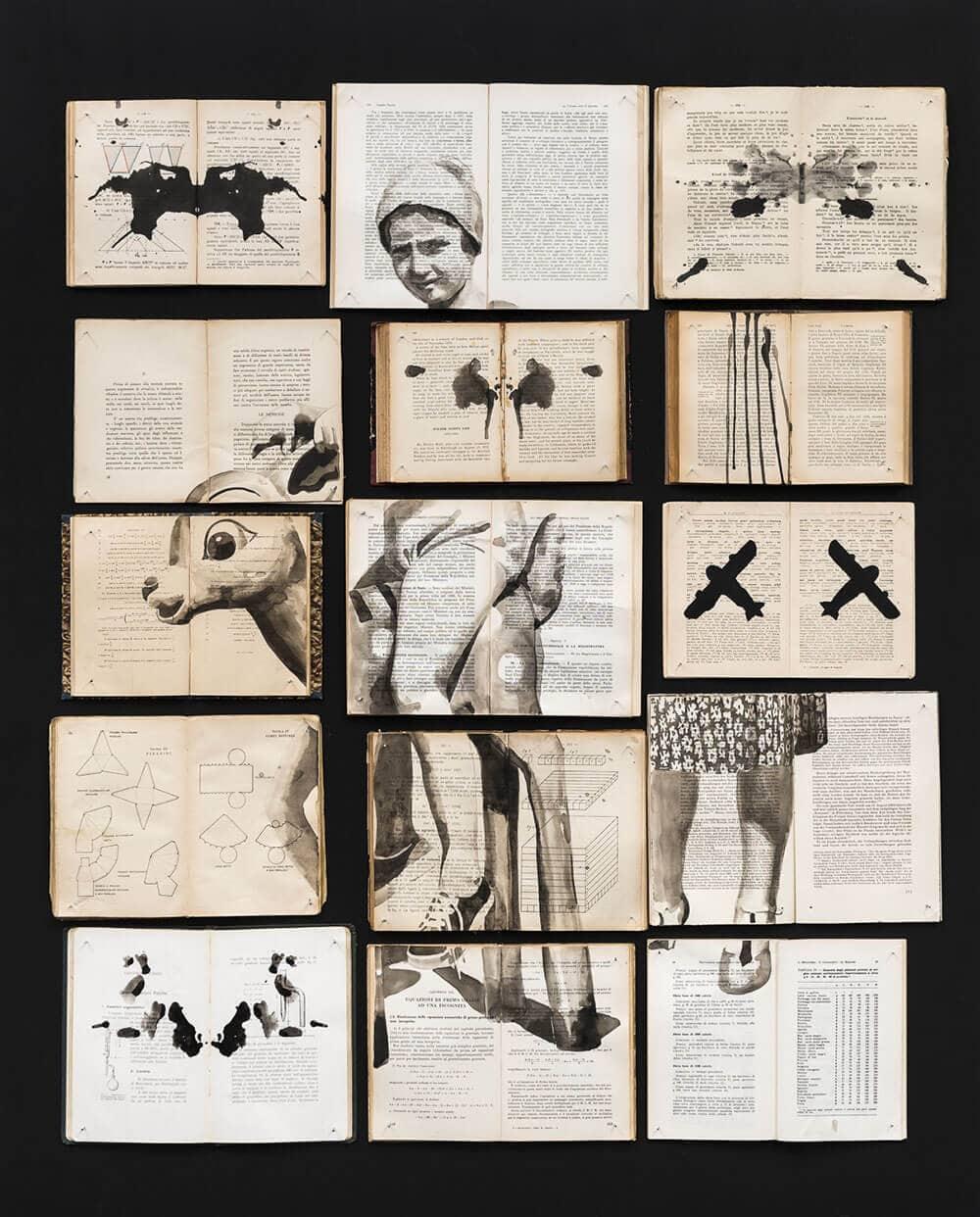 fragmented ink paintings ekaterina panikanova fy 2