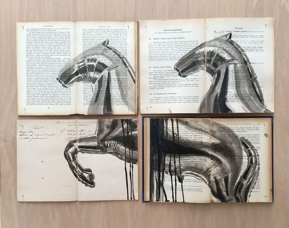 fragmented ink paintings ekaterina panikanova fy 3