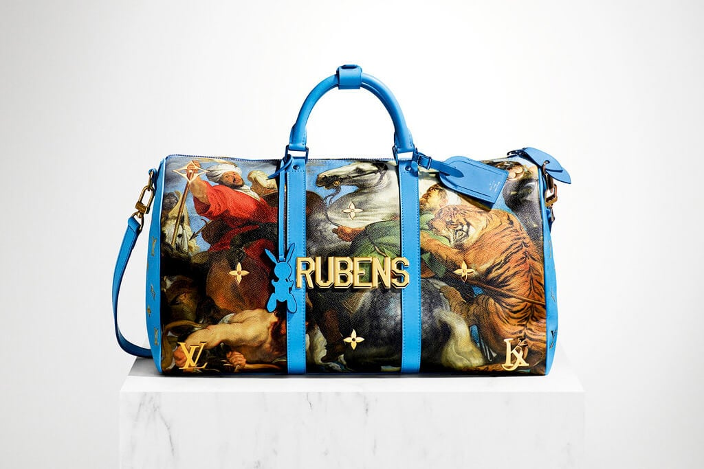 jeff koons louis vuitton