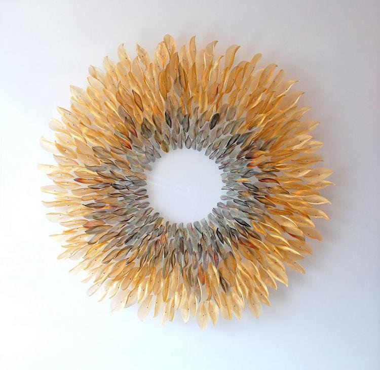 michelle mckinney woven metal sculptures fy 6