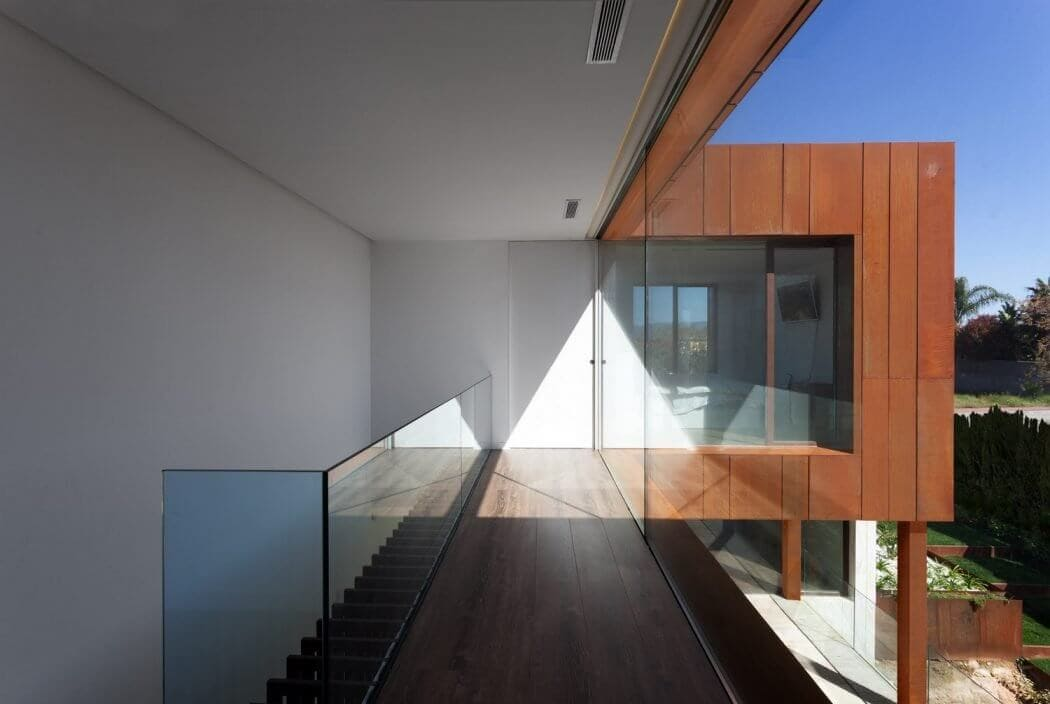 modern villa in spanish mountains 2