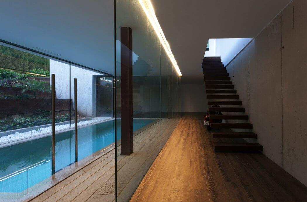 modern villa in spanish mountains 3