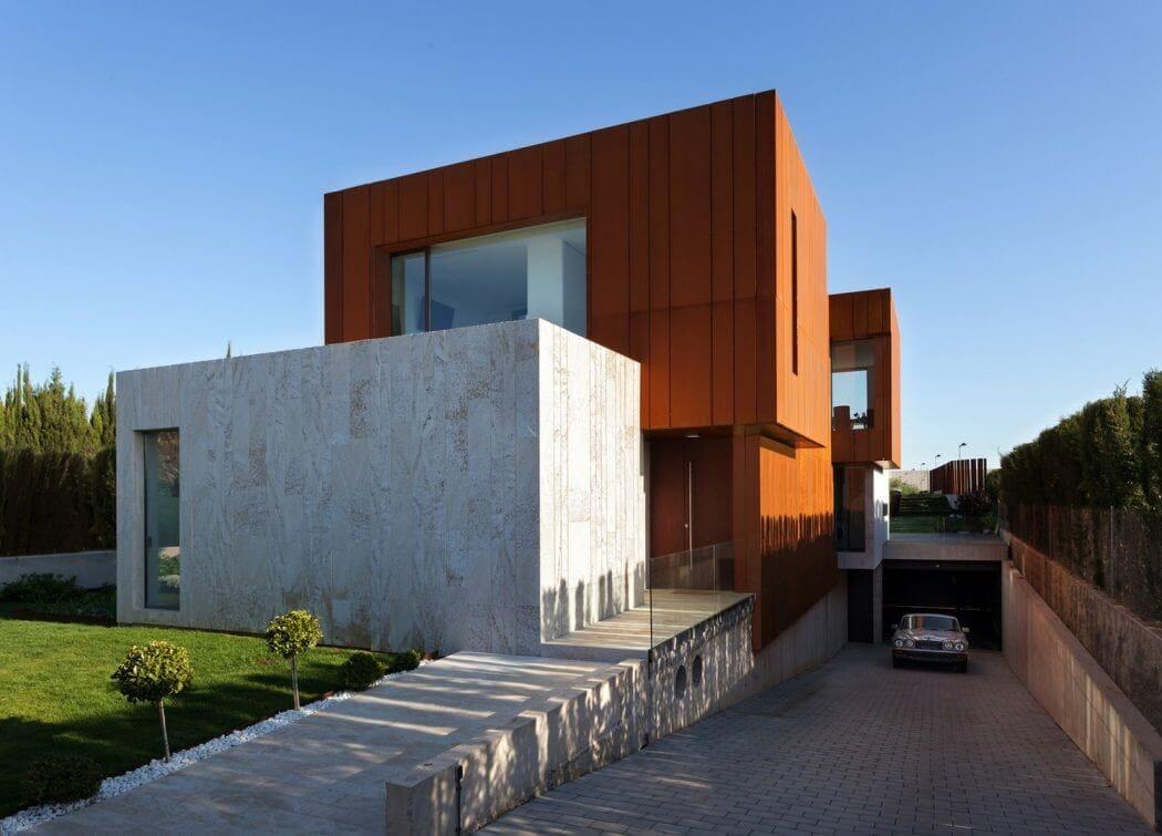 modern villa in spanish mountains 5
