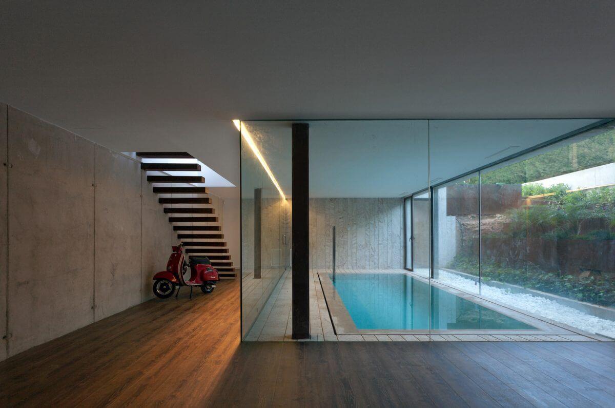 modern villa in spanish mountains 6