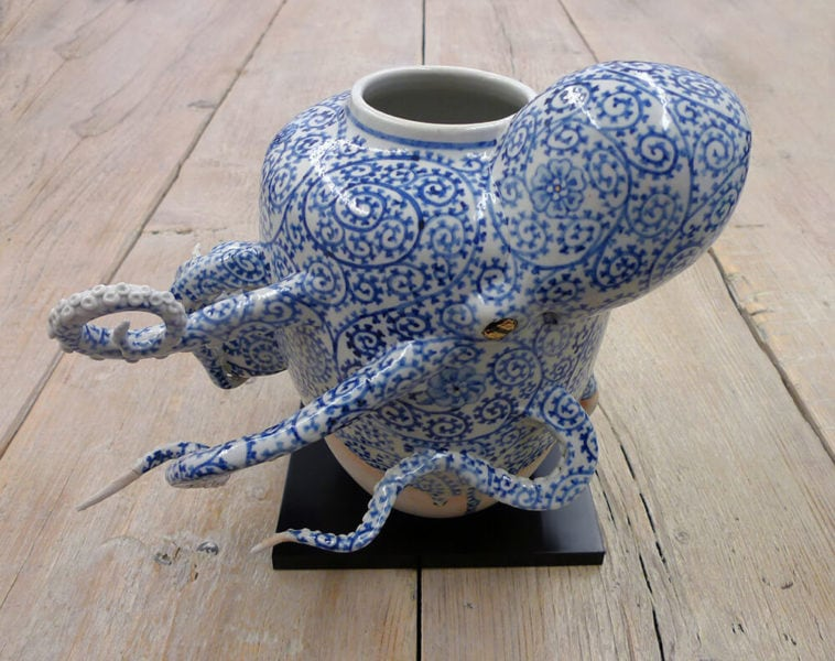 octopi ceramic vessels keiko masumoto fy 1
