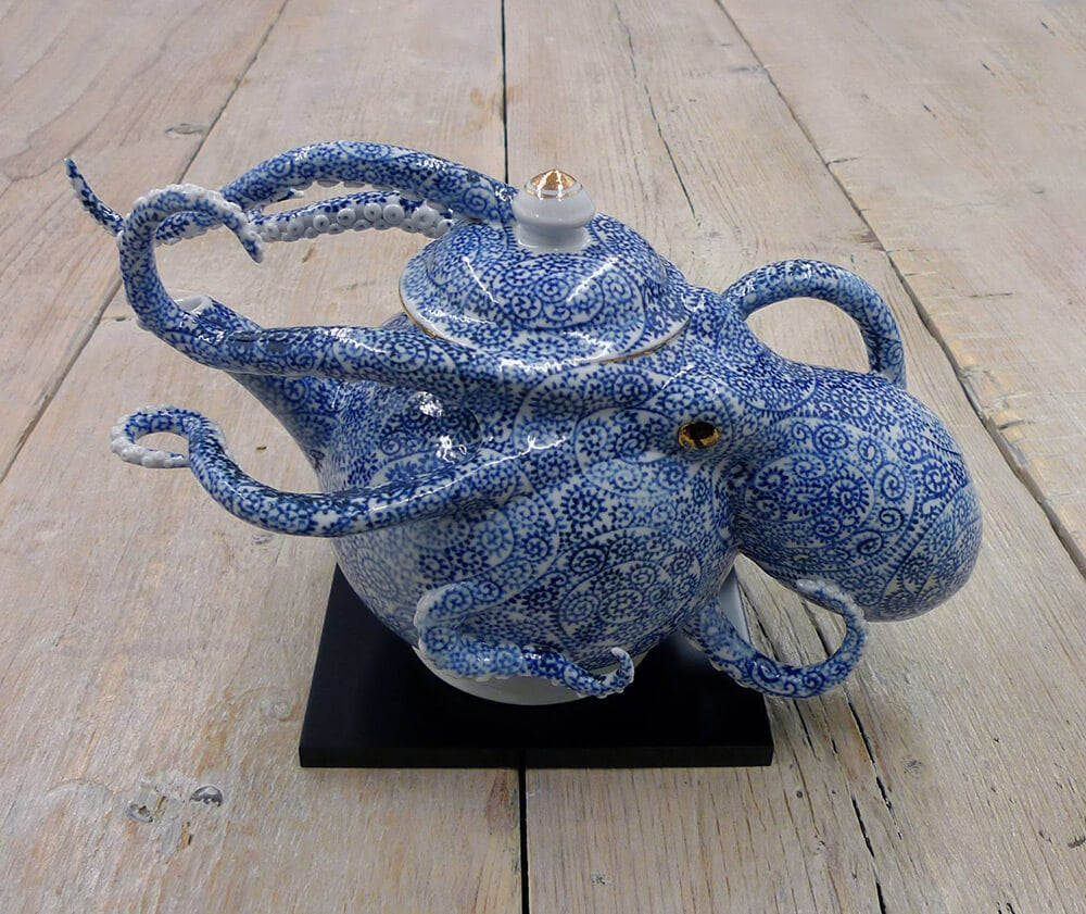 octopi ceramic vessels keiko masumoto fy 2