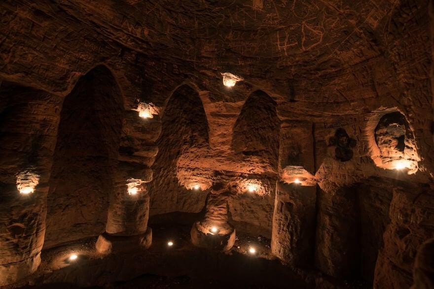 rabbit hole secret knights templar caynton caves network 4