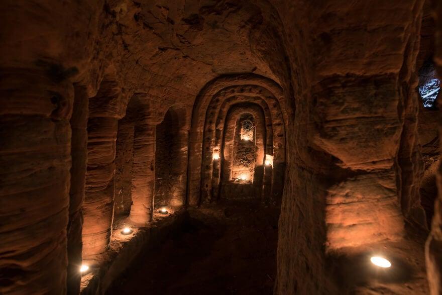 rabbit hole secret knights templar caynton caves network 8