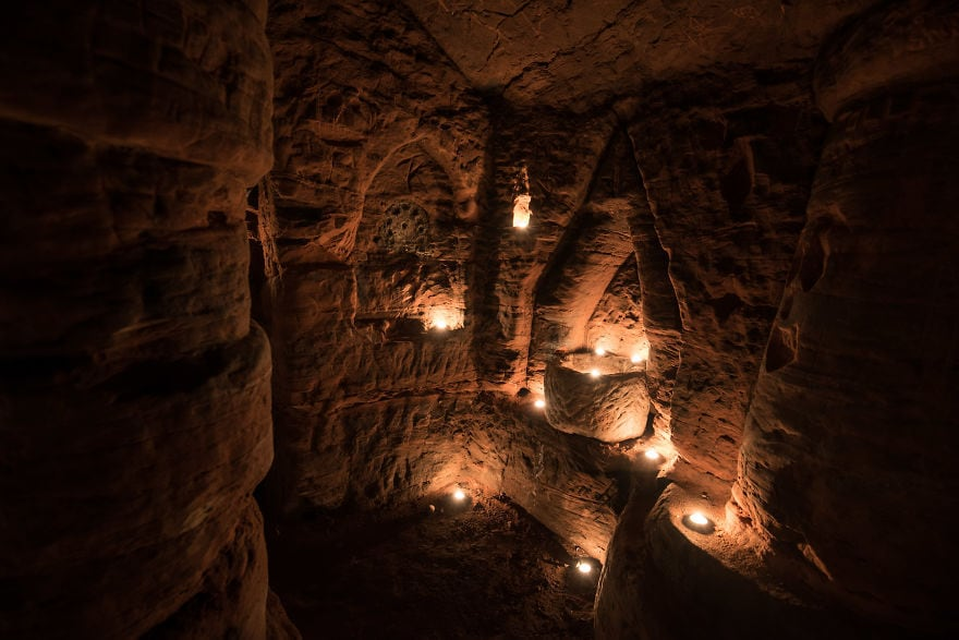 rabbit hole secret knights templar caynton caves network 9