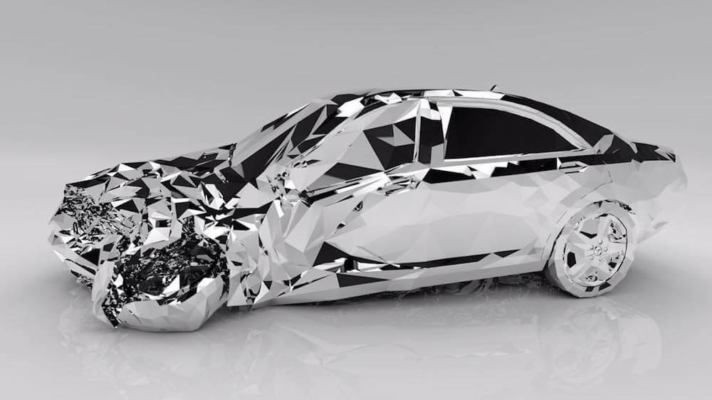 reflective luxury car Jordan griska fy 1