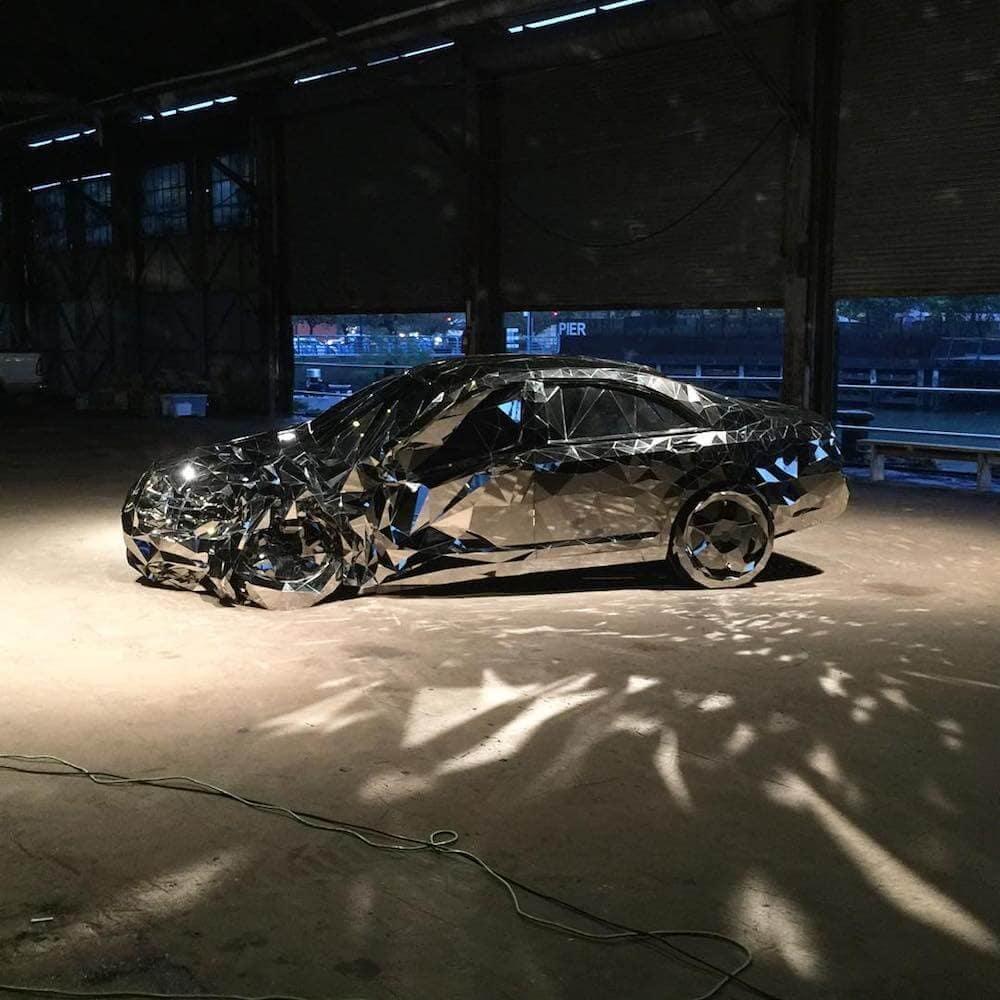 reflective luxury car Jordan griska fy 2