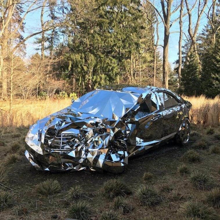 reflective luxury car Jordan griska fy 3
